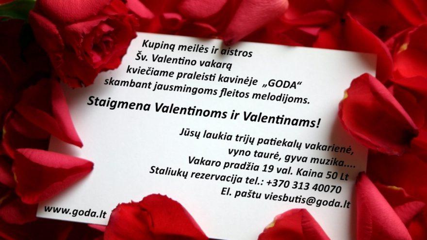 Šv.Valentino vakaras Druskininkuose