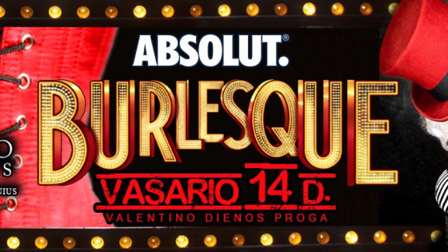ABSOLUT Burlesque @Mojito Nights!