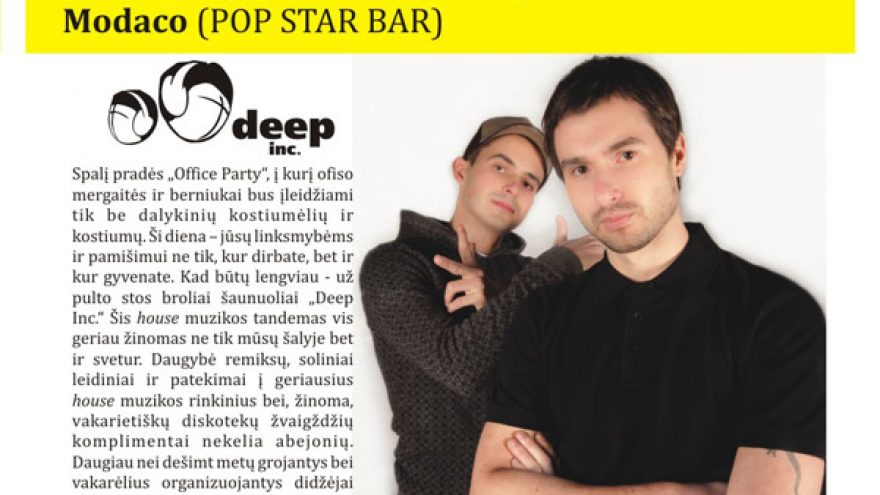 OFFICE PARTY @ POP STAR BAR