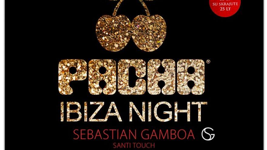 Pacha Ibiza Night: Sebastian Gamboa@ Pacha Vilnius