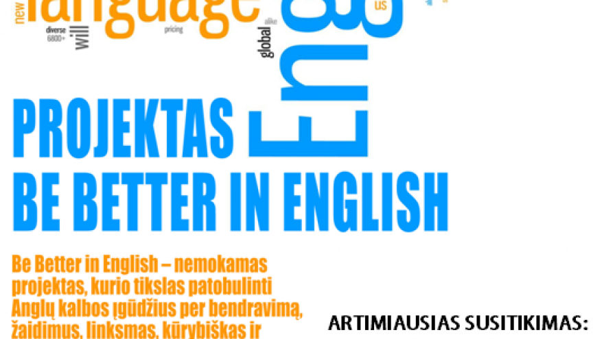 JCI Be Better in English