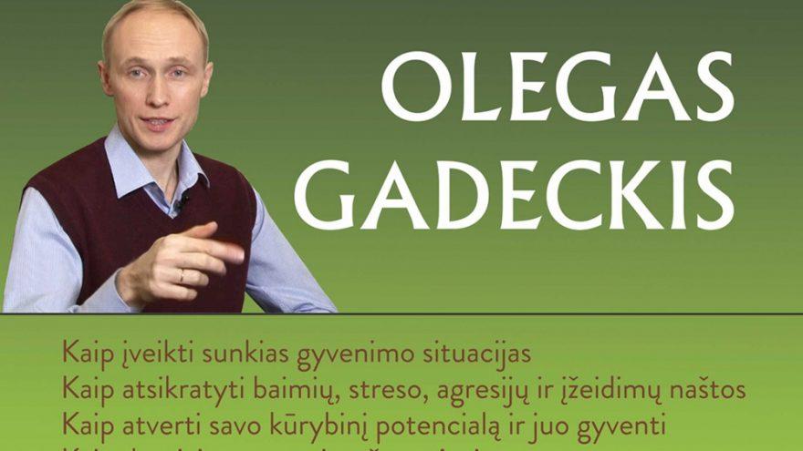 Olegas Gadeckis – HARMONIJOS IR SĖKMĖS DĖSNIAI