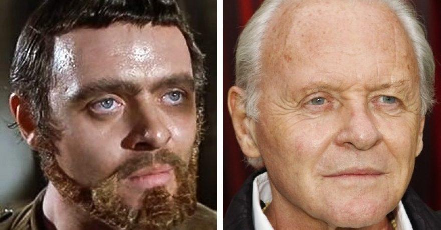 Žymūs aktoriai anksčiau ir dabar – skirtumai akivaizdūs