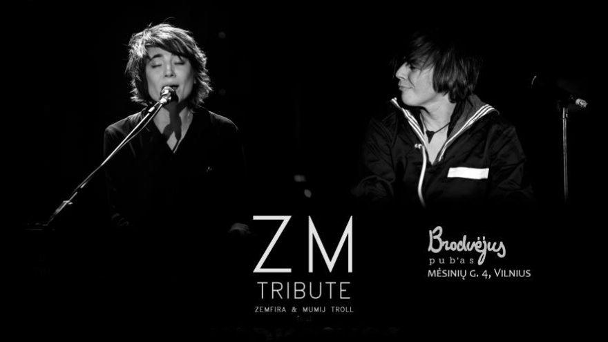 Zemfira & Mumij Troll tribute @Brodvėjus pub