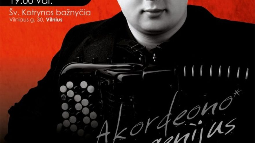 Akordeono genijus – Alexander Hrustevich