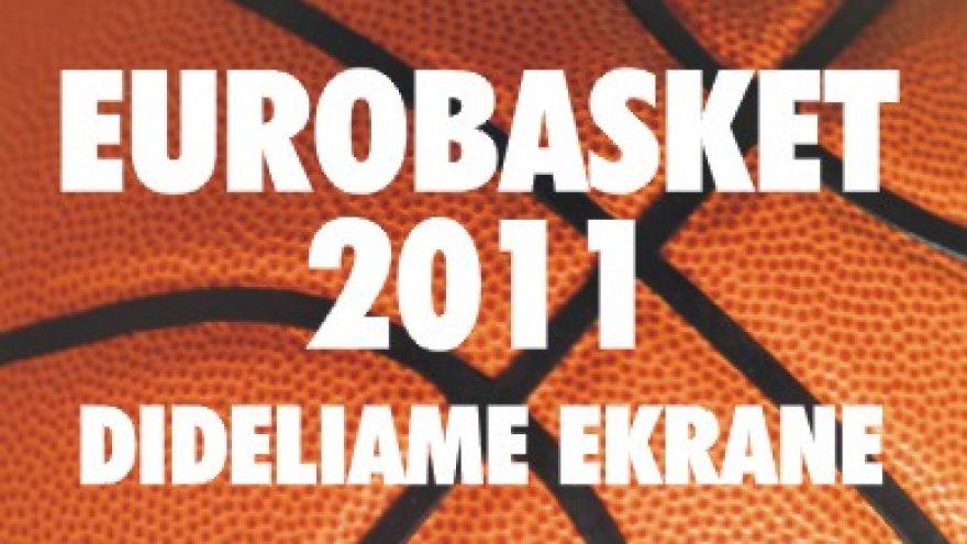 Eurobasket 2011 dideliame ekrane