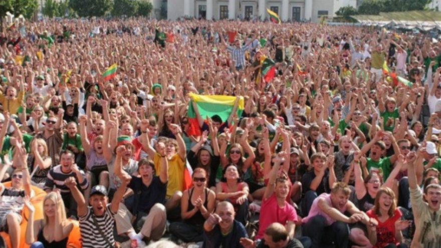 """""""Eurobasket 2011"""" – Vilniaus Rotušės aikštėje"""
