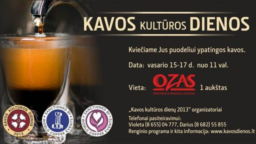 Kavos kultūros dienos 2013