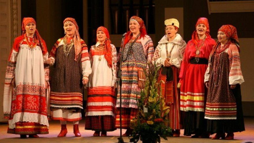 "VI-asis folkloro festivalis ""Pokrovskije kolokola"""