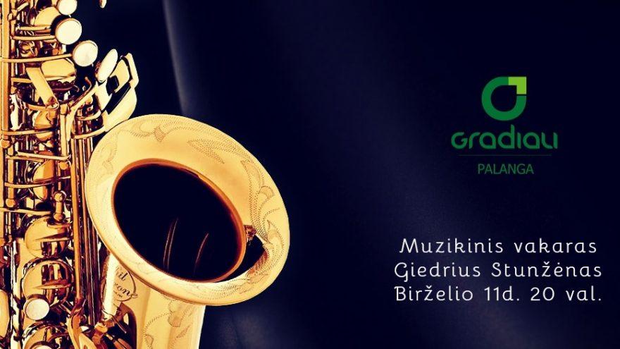 Muzikinis vakaras su gražiausiomis saksofono melodijomis