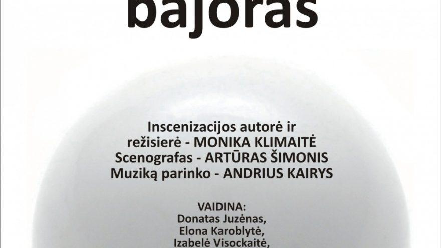 "PREMJERA Ž. B. Moljeras ""Miestelėnas bajoras"""