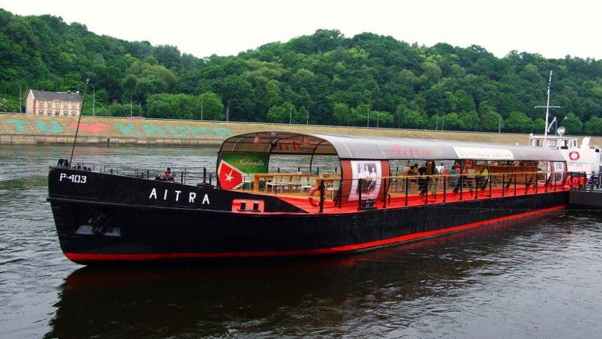 Pramoginės kelionės laivu AITRA