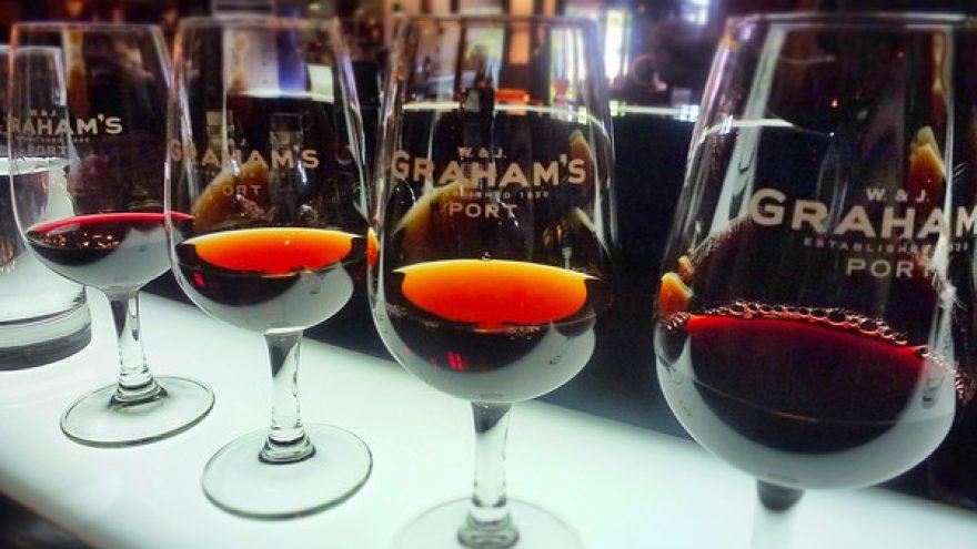"""Grahams""- Porto vyno degustacija su vakariene"