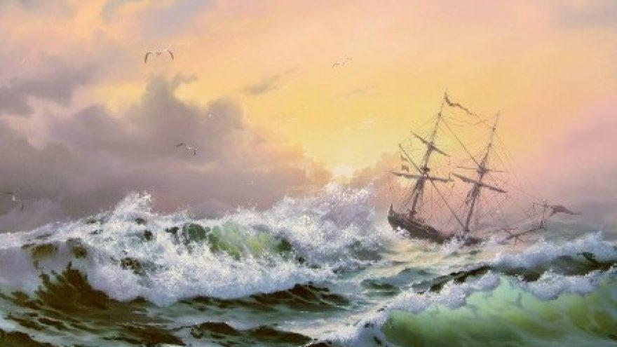 """Marinistinių peizažų paroda """"Sveika, jūra!"""""""