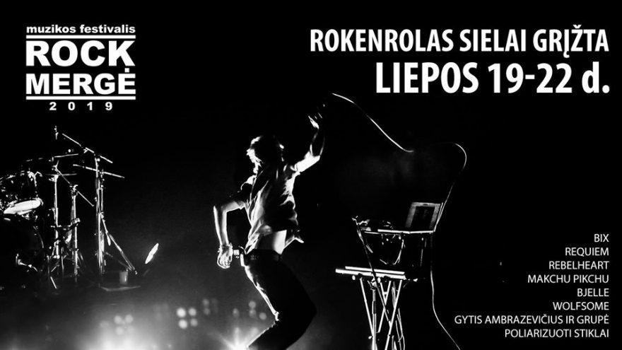 Muzikos festivalis I Rockmergė 2019