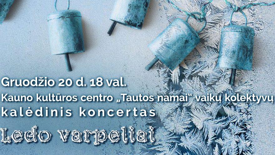 """Kalėdinis koncertas """"Ledo varpeliai"""""""