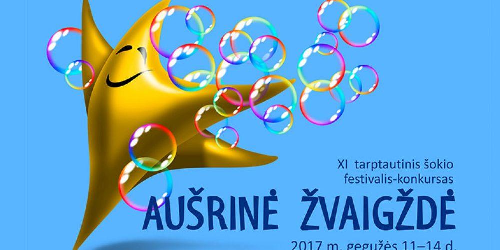 """Festivalyje – konkurse """"Aušrinė žvaigždė"""" – 723 šokėjai"""
