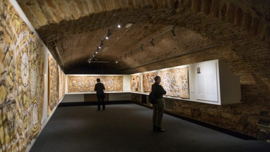 Elvyros Kairiūkštytės piešinių parodos uždarymo ekskursija