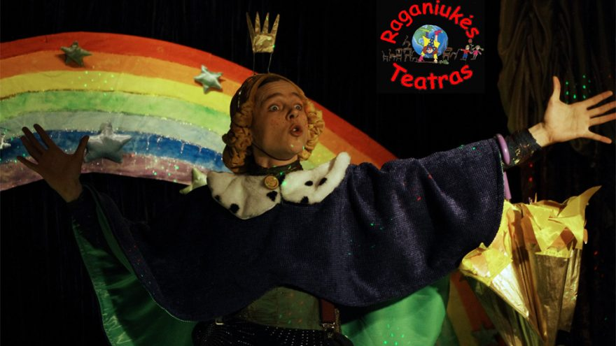 """Spektaklis vaikams ,,Princesė ir Varlius"""""""