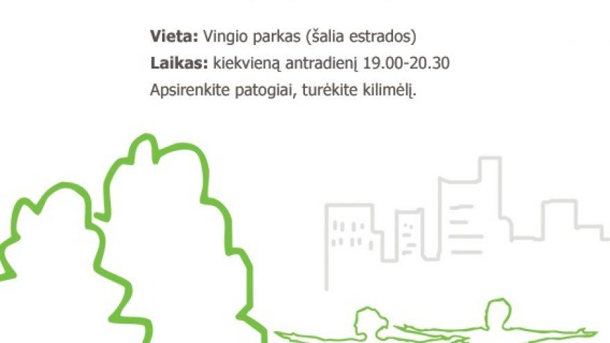 City Yoga Vingio parke