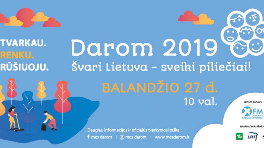 DAROM2019 paramos bilietas