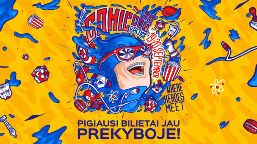 Comic Con Baltics 2020