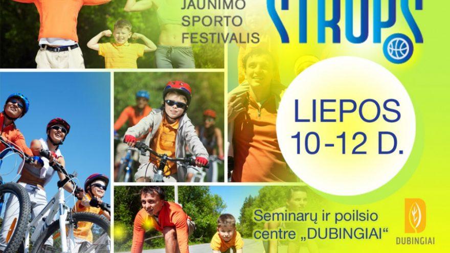 Lietuvos šeimų ir jaunimo sporto festivalis STROPS
