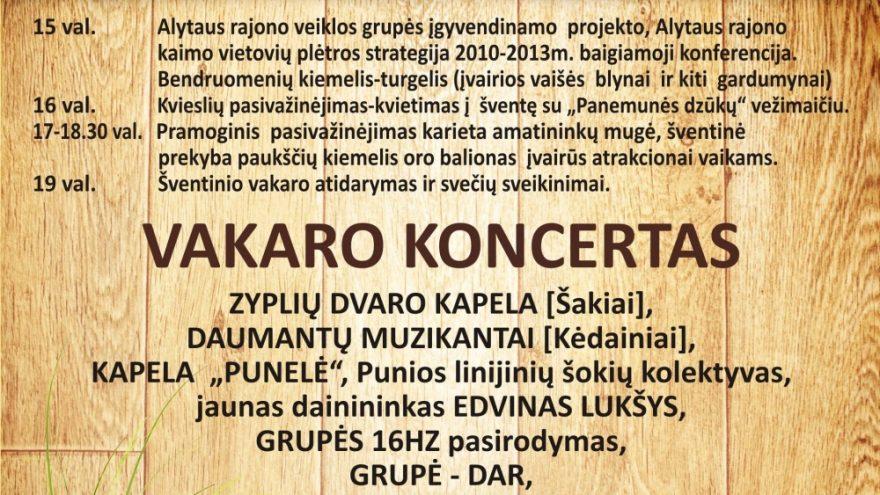 Šviežios duonelės šventė – Oninės Punioje