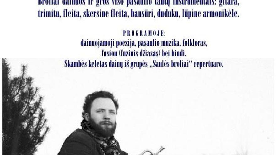 Brolių Donato ir Sauliaus Petreikių akustinis koncertas