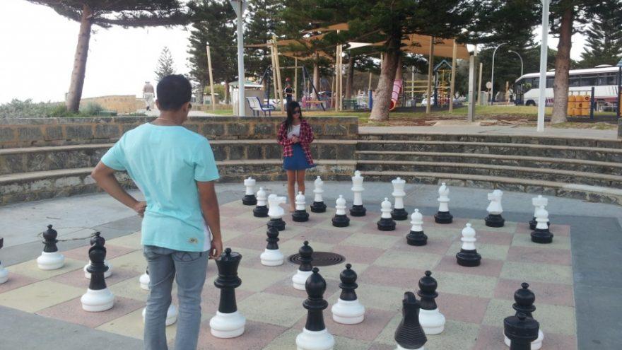 Gatvės šachmatai sekmadienį
