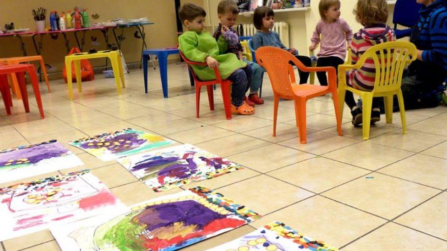 Dailės saviraiškos užsiėmimai vaikams