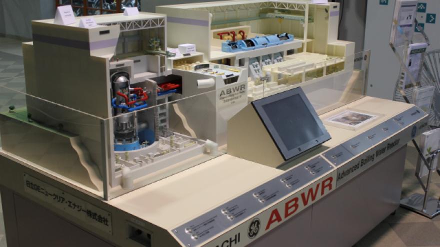 Kviečiame susipažinti su Visagino AE reaktoriaus  modeliu