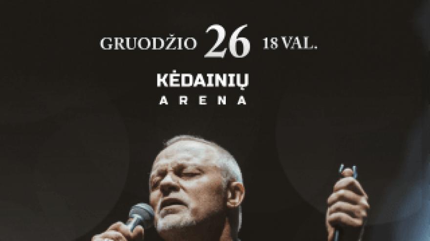 Šventinis Gyčio Paškevičiaus koncertas | Kėdainiai