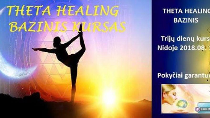 """Bazinis Theta Healing (""""Teta Gydymas"""") kursas Nidoje"""