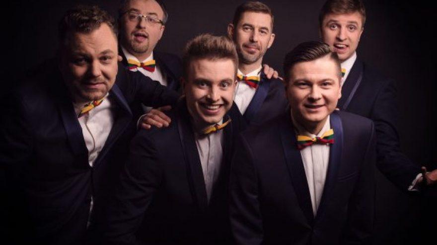 """Teatralizuotas vyrų vokalinės grupės """"Quorum"""" koncertas vaikams ir ne vaikams pagal Sigito Gedos eiles"""