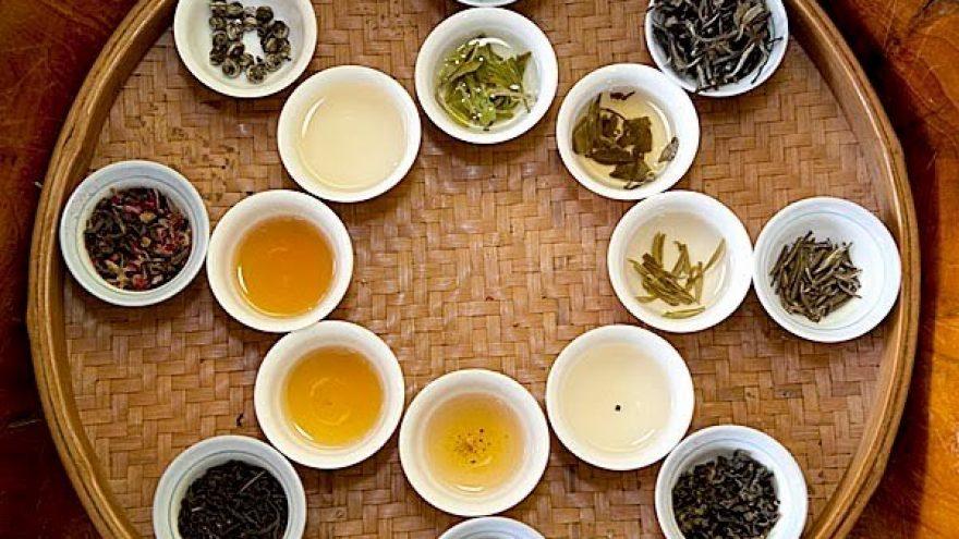 """Degustacija """"kiniškos arbatos su gėlėmis"""""""