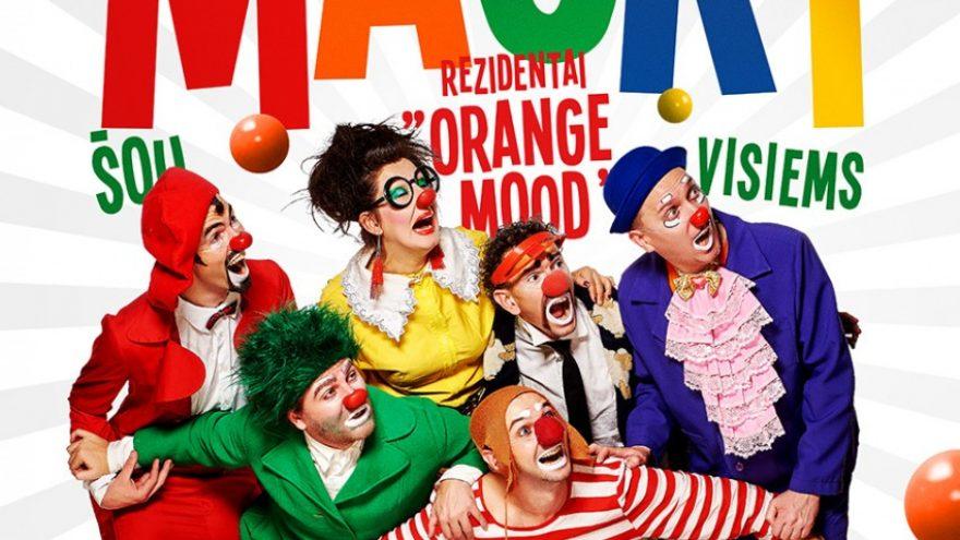 Orange Mood (Odesa), klounų namų MASKI rezidentai