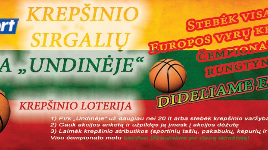 Krepšinio varžybos. Lietuva-Belgija