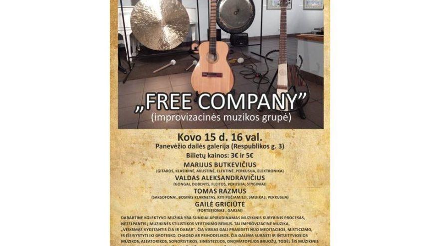 Improvizacinės muzikos koncertas