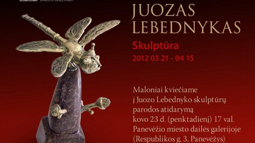 """Paroda """"Juozas Lebednykas. Skulptūra"""""""