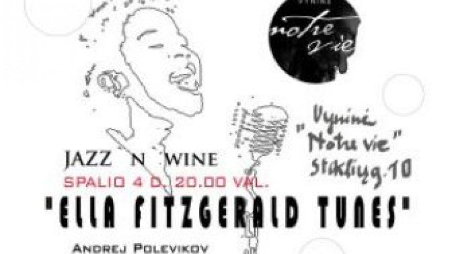 """Projektas """"Ella Fitzgerald tunes"""""""