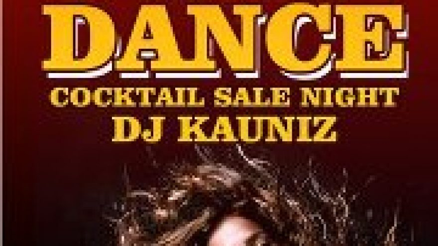 """""""Coctail sale night"""" Just dance party."""