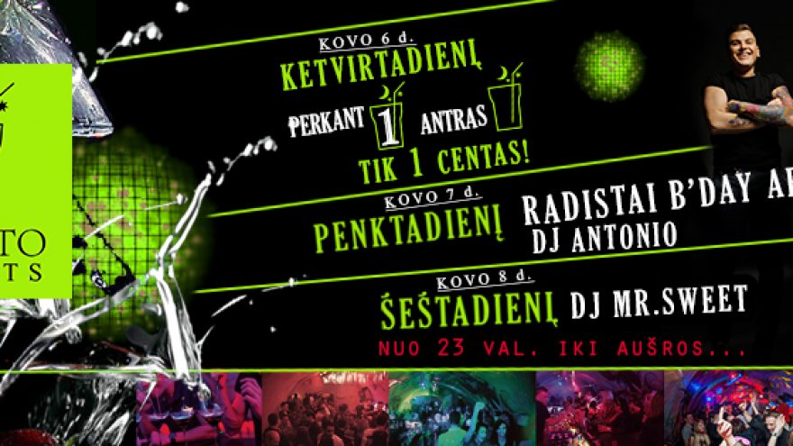 Don't stop the Party @Mojito Nights l Radistai Bday!
