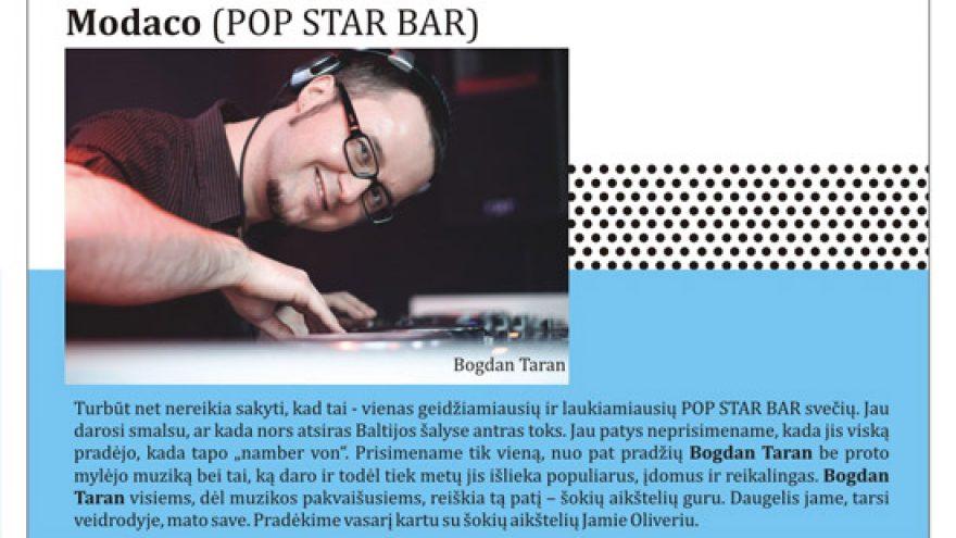 BOGDAN TARAN @ POP STAR BAR