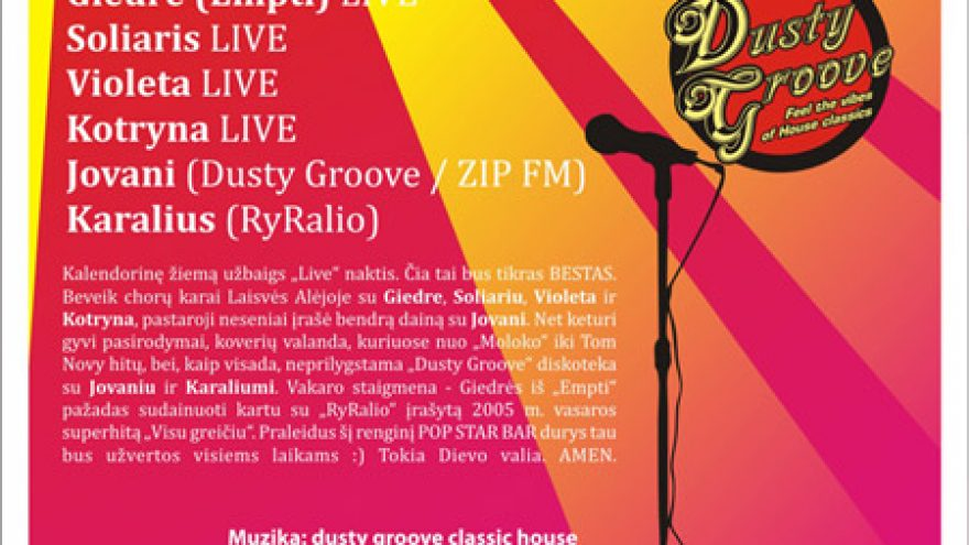 THE BEST OF DUSTY GROOVE: LIVE