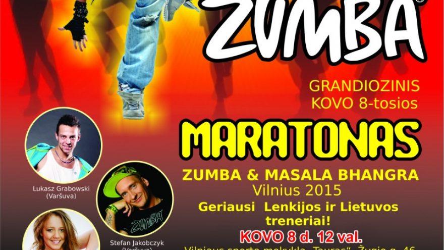ZUMBA MARATONAS 2015