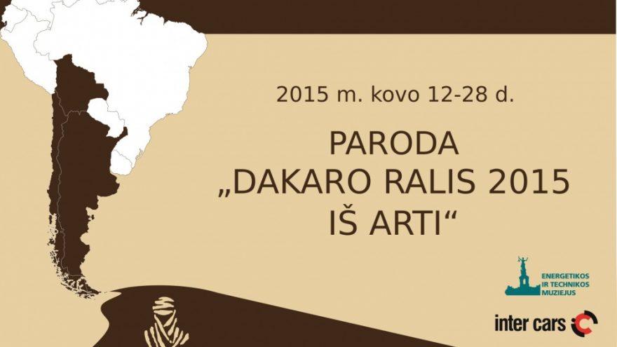 Dakaro ralis 2015 iš arti