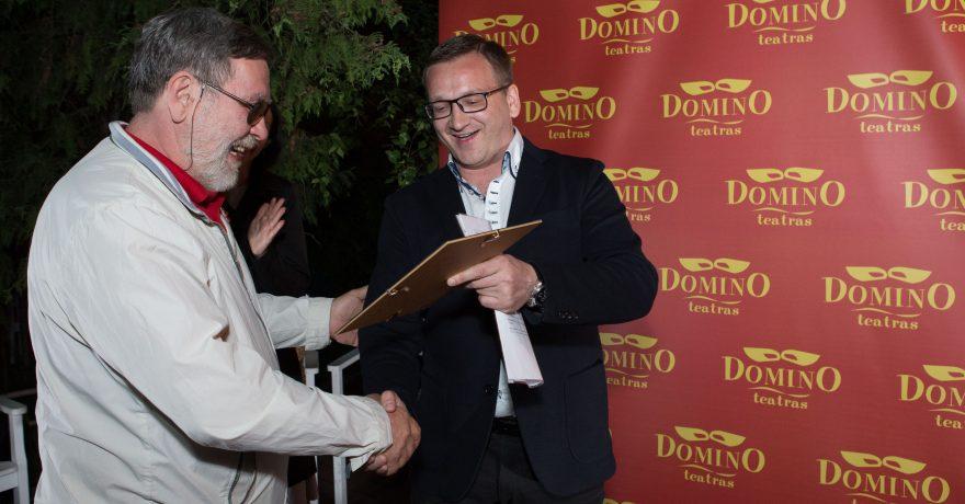 """Profesionalaus komedijos teatro """"Domino""""  įkūrėjas dievina… dramą"""