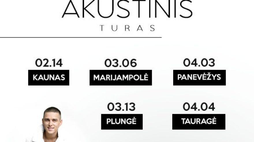 DONATAS MONTVYDAS AKUSTINIS TURAS