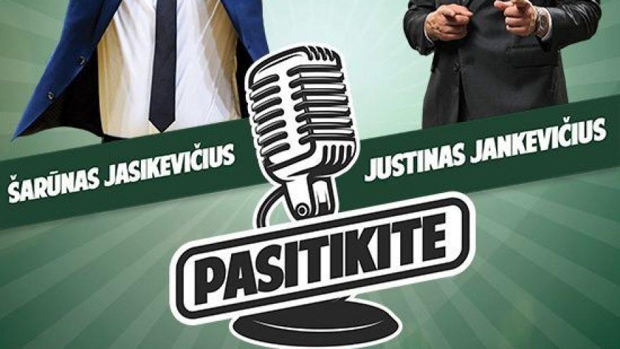 """""""Pasitikite"""" Šarūnas Jasikevičius"""
